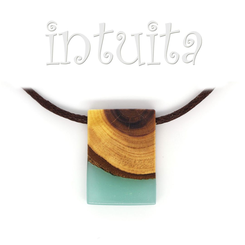 resin and wood necklaces for men for Christmas in Intuita Shop
