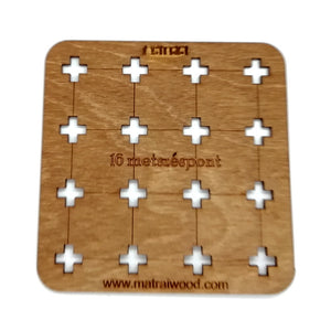 16 Intersections Wooden Logic Game