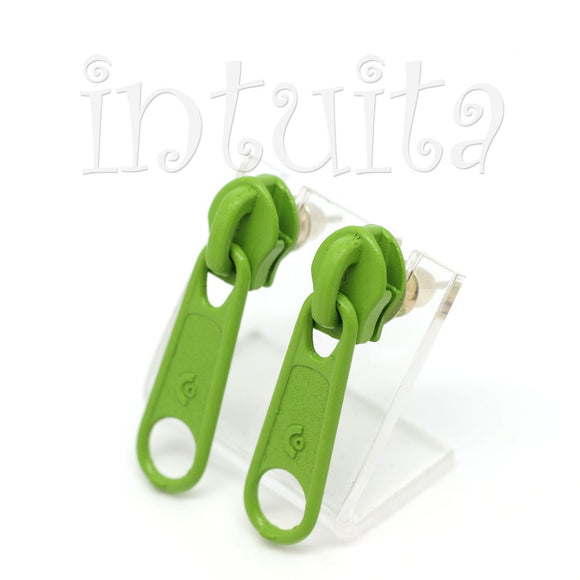 Soft Purple Enamel On Copper Dangles With Snail Design