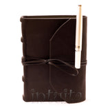Black Leather-Bound Journal