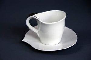 Small Coffee Cup With Saucer