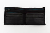 Recycled and Upcycled Bicycle Inner Tube Wallet With Black Edges