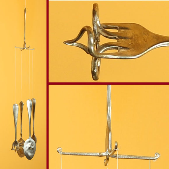Spoon And Fork Windchimes