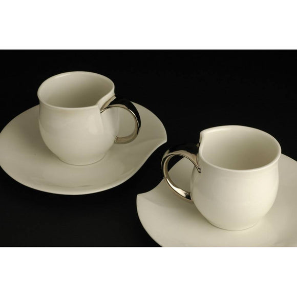 Porcelain Tea Cup With Saucer