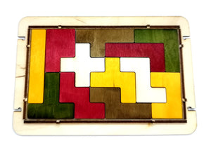Pentominoes Wooden Puzzle & Logic Game