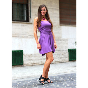 Light Purple Convertible Dress