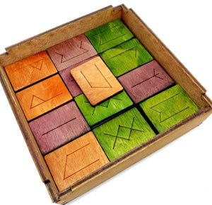 Rök Wooden Board Game