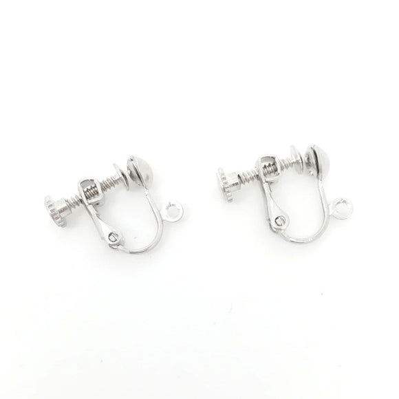 Surgical Steel Clips for Earrings