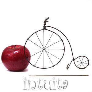 Velocipedes Bicycle Wire Figurine