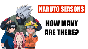 How many seasons of Naruto are there