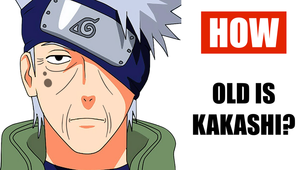 HOW OLD IS KAKASHI?