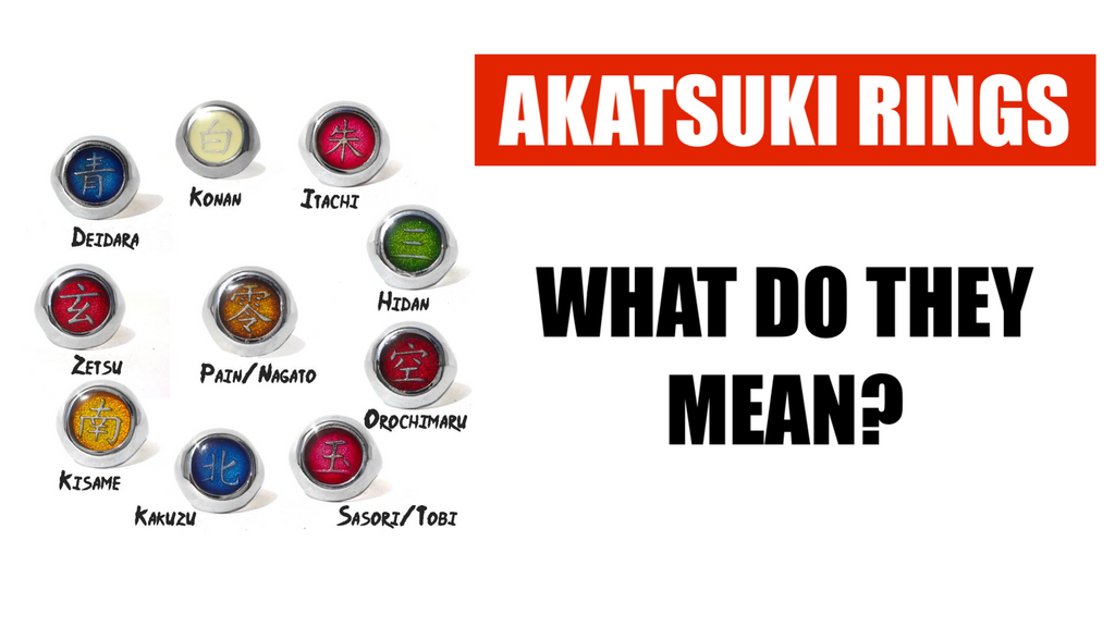 WHAT DO THE AKATSUKI RINGS MEAN ?