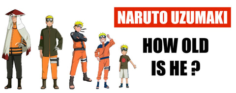 How old is Naruto Uzumaki ?