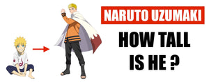 How Tall is Naruto ?