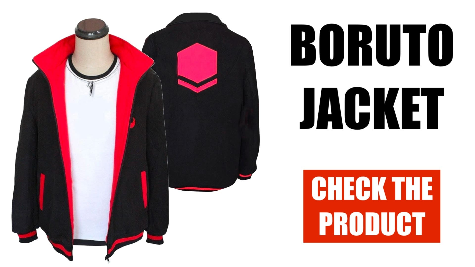 BORUTO COSPLAY JACKET