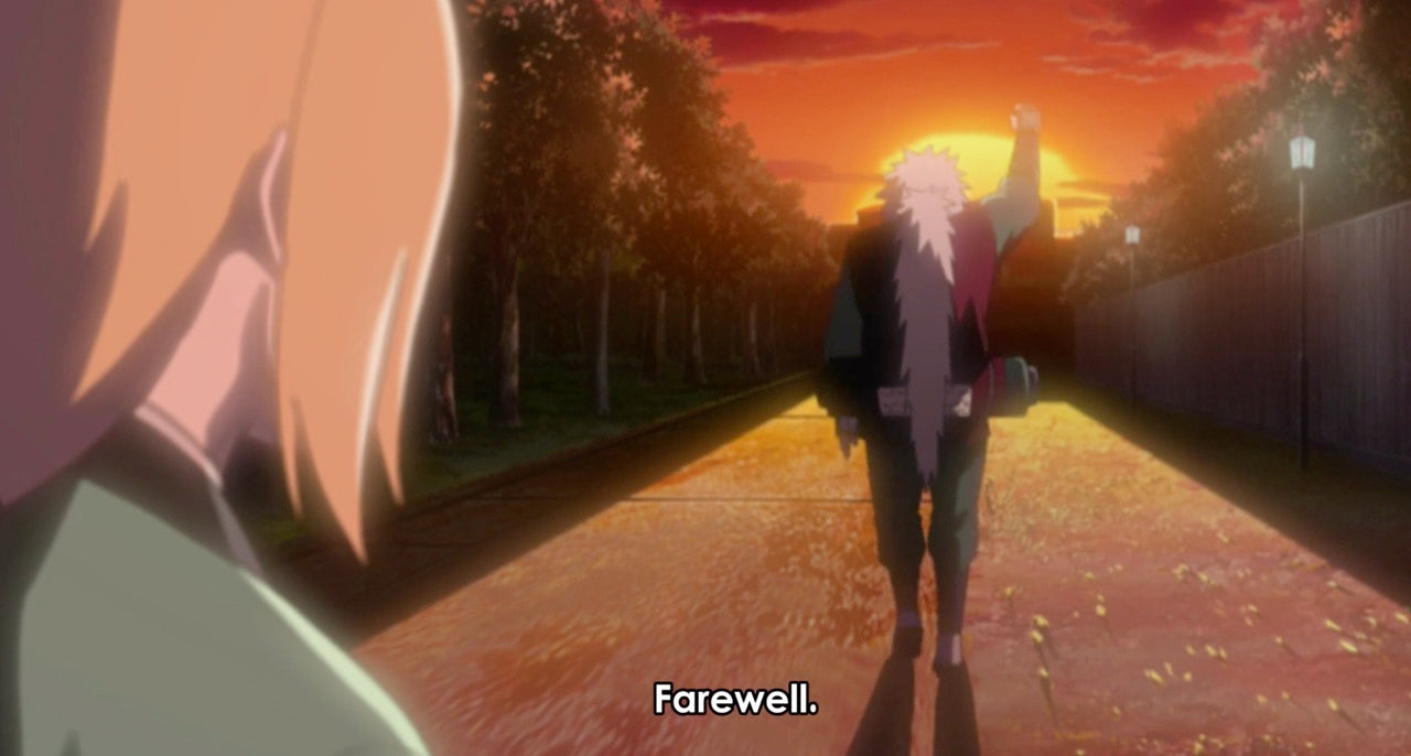 jiraiya's last words to tsunade