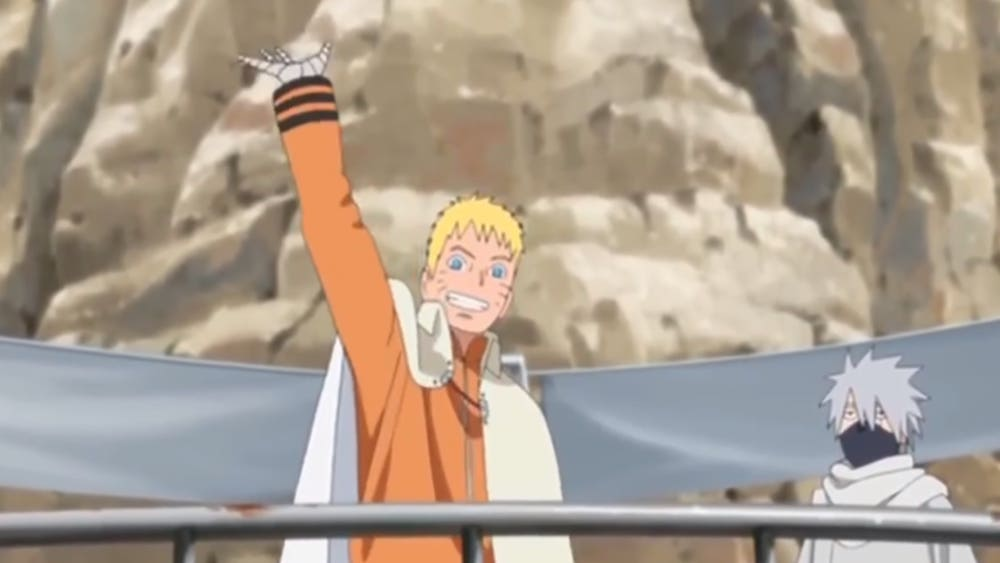 How old is Naruto when he becomes Hokage