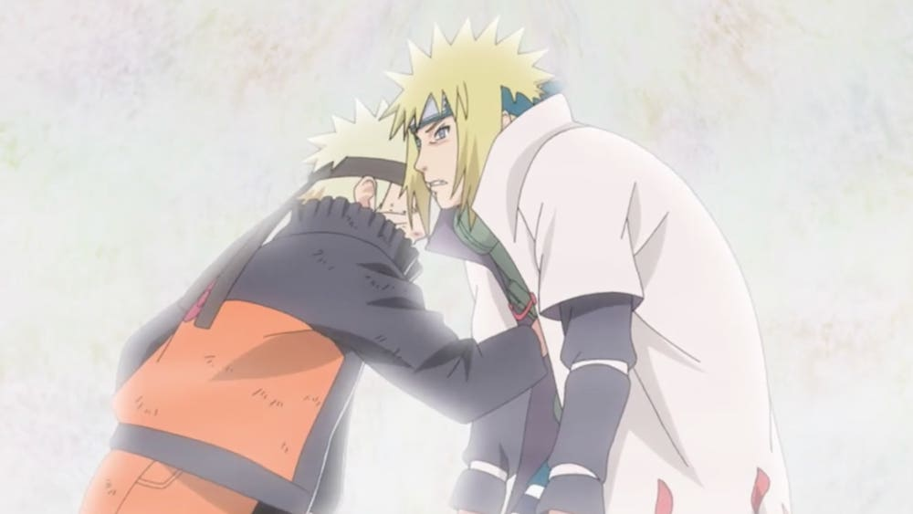 when does naruto meet his dad