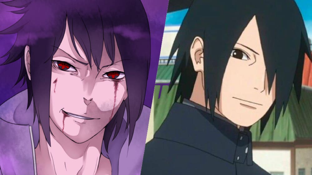 sasuke before and after