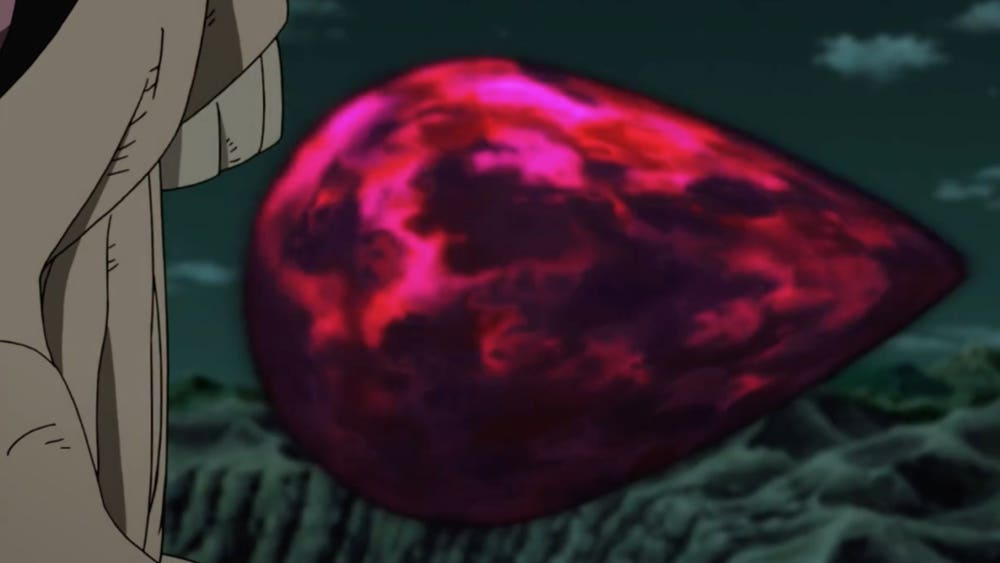ten tails tailed beast bomb