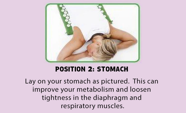 How to Use the SmileMat: Stomach Example Position