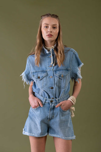 Short Denim - Merci Shop Italia