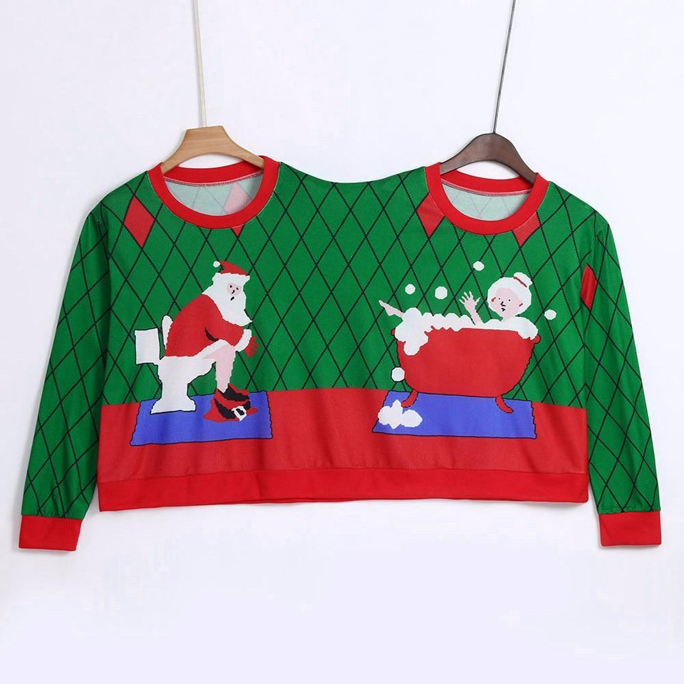 Two Person Christmas Sweater - Teqtus