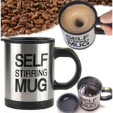 Self Stirring Mug - Teqtus
