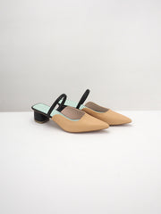 TASHA Low Heel Mule