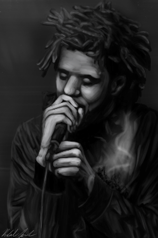 Cole World - Signed Print
