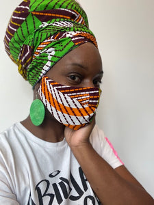 Meya HeadWrap Mask Set