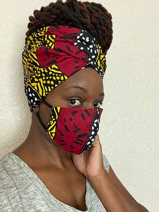 Angenue HeadWrap Mask Set