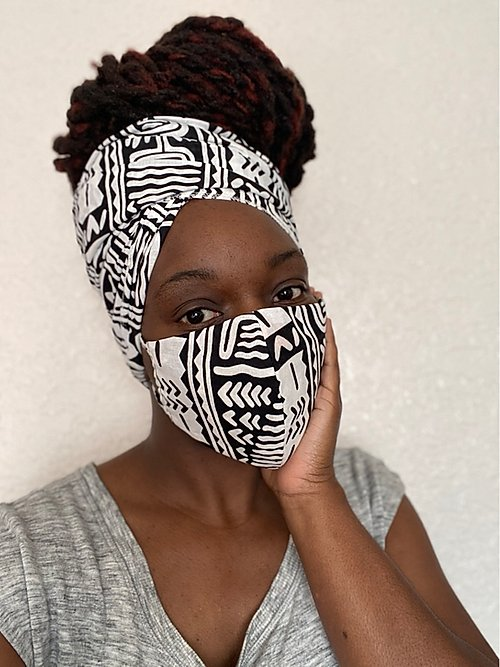 Azura HeadWrap Mask Set