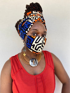 Kesmet HeadWrap Mask Set