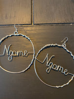 Load image into Gallery viewer, Ngome Signature Hoop Earrings