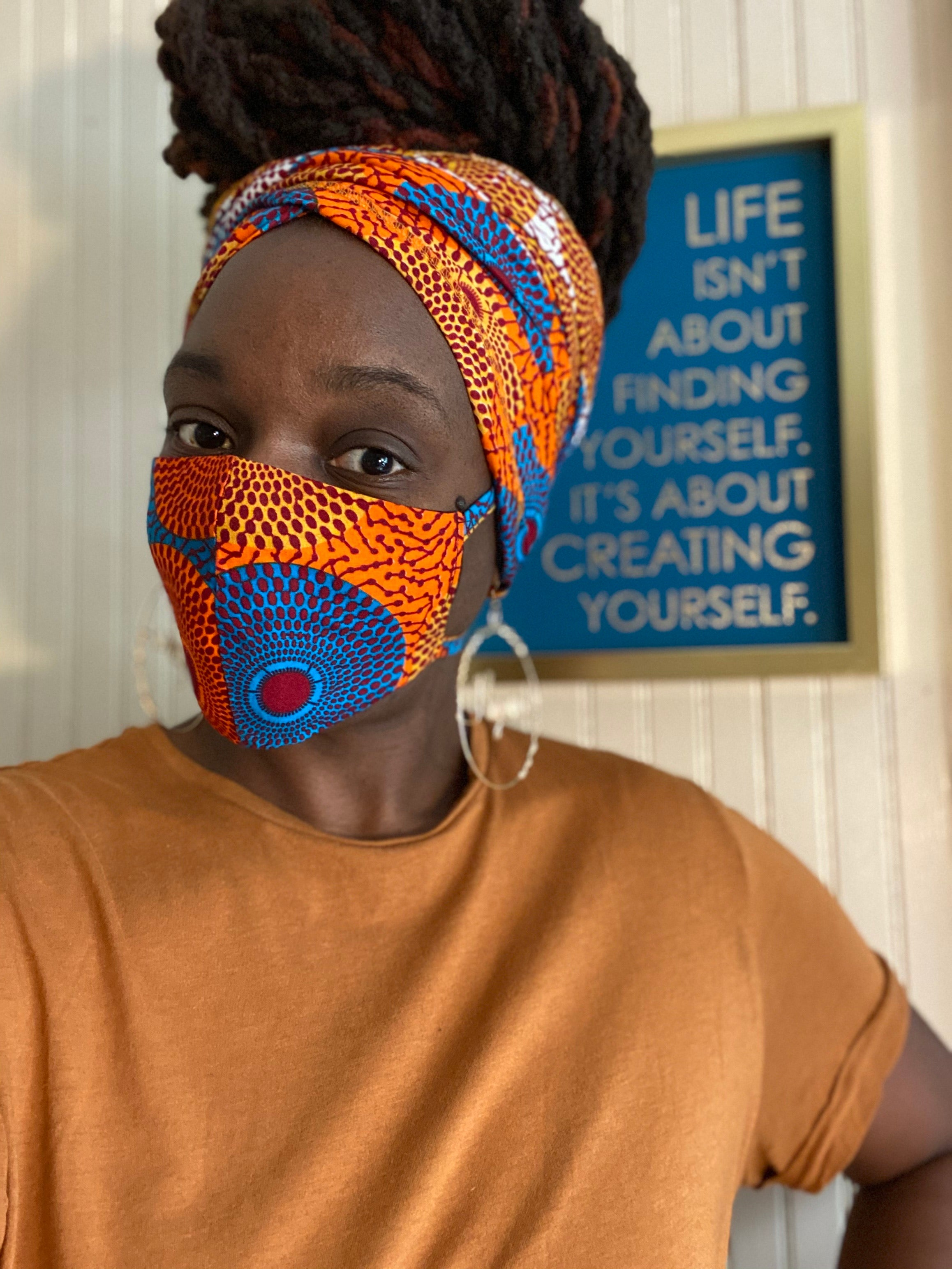 Hamar HeadWrap Mask Set