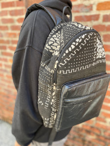 Mudcloth Backpack