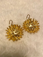 Load image into Gallery viewer, Akan Gold & Brass Earrings