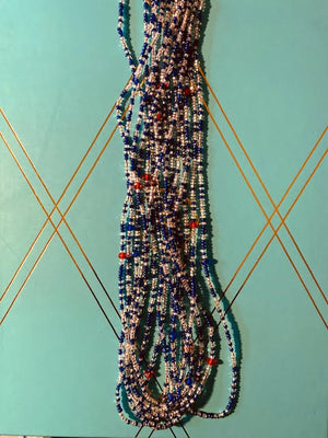 Open image in slideshow, West African Waist Beads