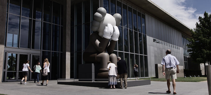 Kaws MOMA sculpture