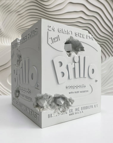 Daniel Arsham - Eroded Brillo Box