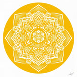 Yellow Mandala