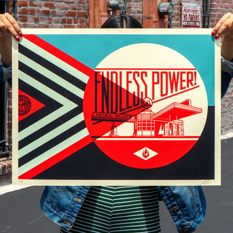 Endless Power Petrol Palace - Blue