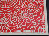 Ornate Pattern - Red