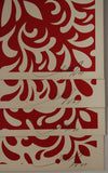 Japanese Fabric Pattern Set - Red