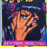 New York Invasion Black Light - Signed