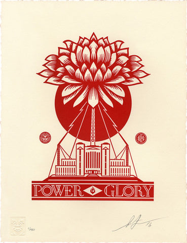 Power and Glory - Letterpress