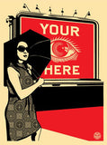 Obey Billboard (Eye)