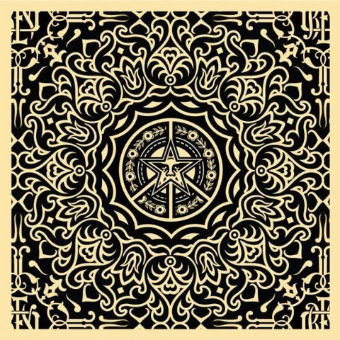 Ornate Pattern - Black