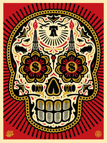 The Power & Glory Day of the Dead Skull